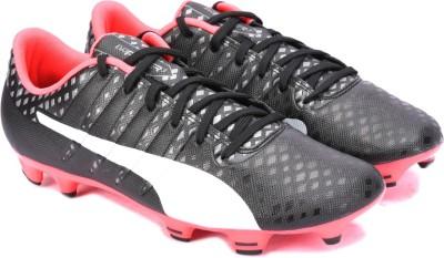 Puma evoPOWER Vigor 3 FG Football Shoes(Black)