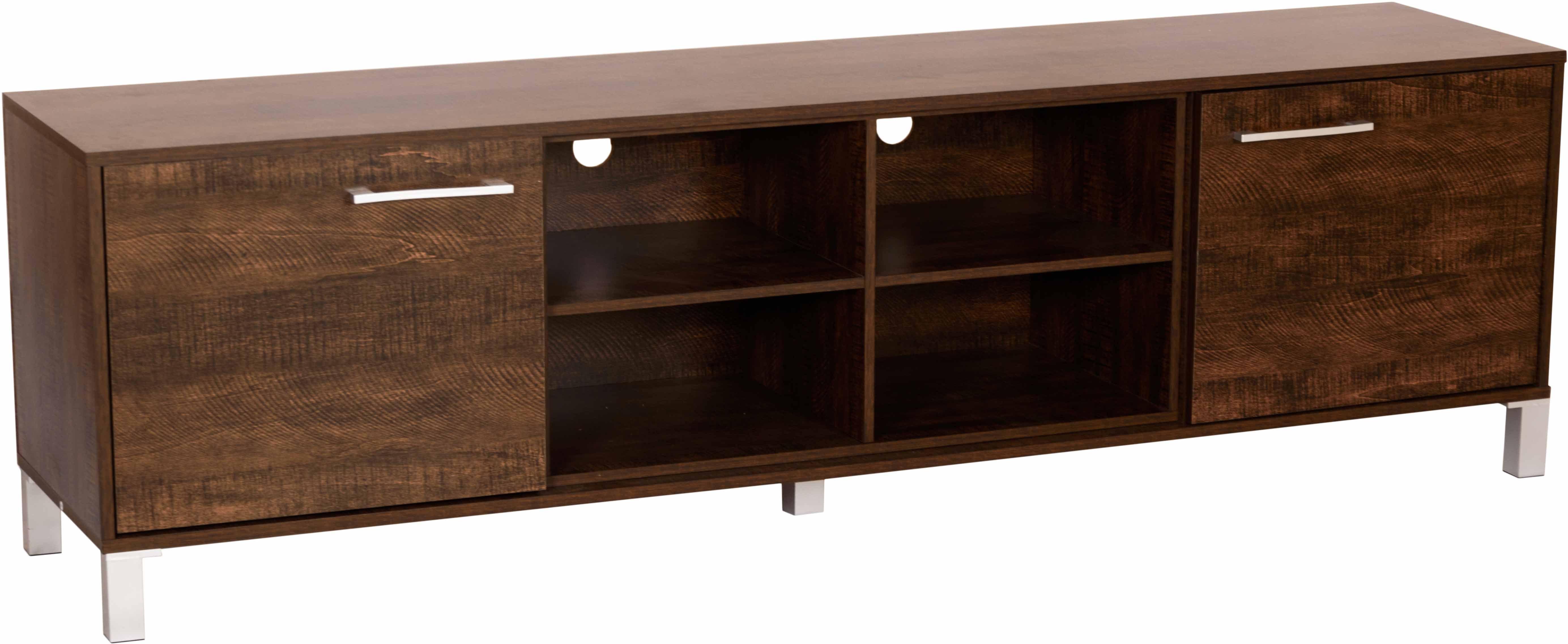 View DeckUp Uniti Engineered Wood TV Entertainment Unit(Finish Color - Wenge Matte) Furniture (DeckUp)