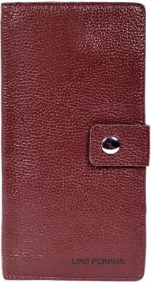 Lino Perros Women Brown Artificial Leather Wallet(6 Card Slots)