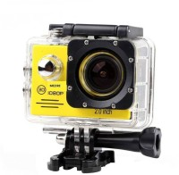 MEZIRE HD Adventure camera-11 130 degree Wide angle lens Sports & Action Camera(Yellow)