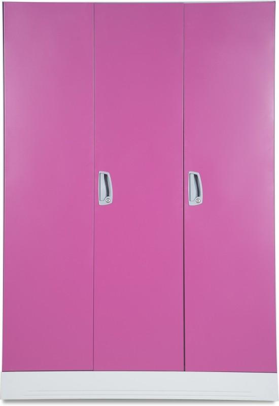 Godrej Interio Slimline WL Metal Almirah(Finish Color - Textured Purple)