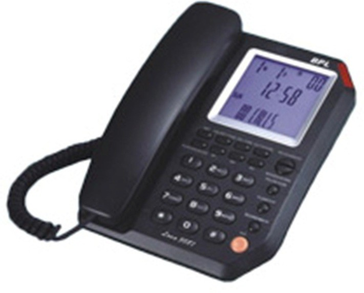 bpl Lona 3087 Corded Landline Phone(Black) (BPL) Delhi Buy Online