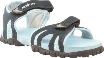 Spinn Women navy sky Sports Sandals