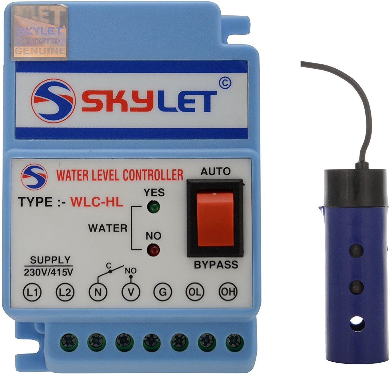 View SKYLET WLC-306 water level controller Wired Sensor Security System Home Appliances Price Online(SKYLET)