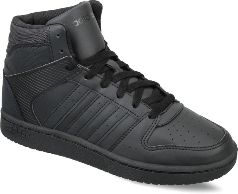 Adidas Neo VS HOOPSTER MID W Sneakers(Black)