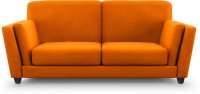 Dolphin Cabana Solid Wood 2 Seater Sectional(Finish Color - Orange)