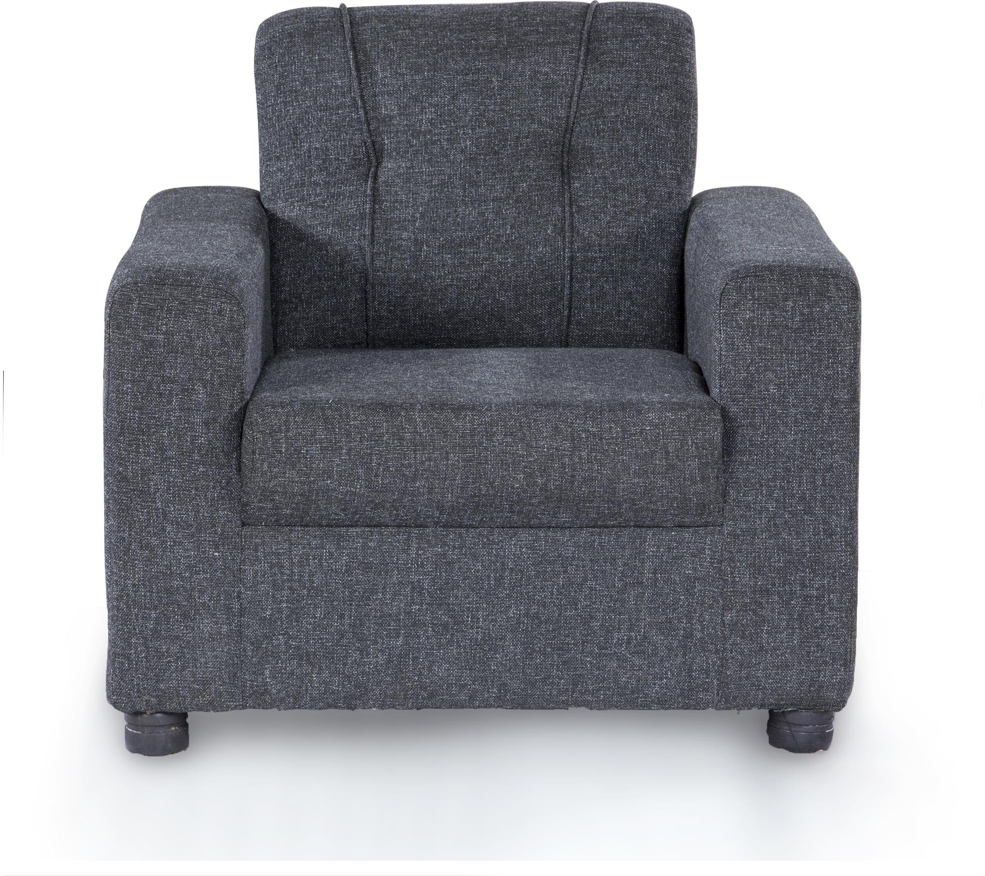 View Furnicity Fabric 1 Seater Standard(Finish Color - Grey) Furniture (Furnicity)