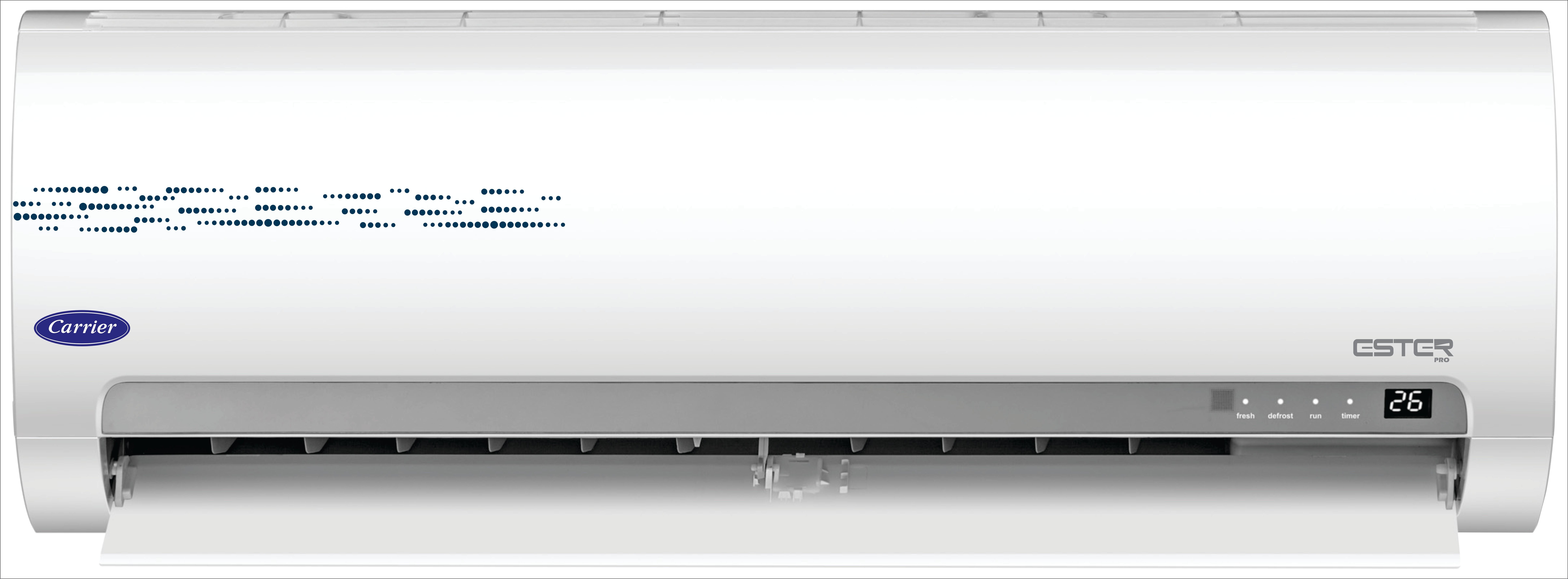 Carrier 1 Ton 5 Star Split AC - White(12K Ester Pro 5 Star, Copper Condenser)