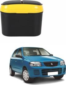 AdroitZ Plastic Dustbin(Multicolor)