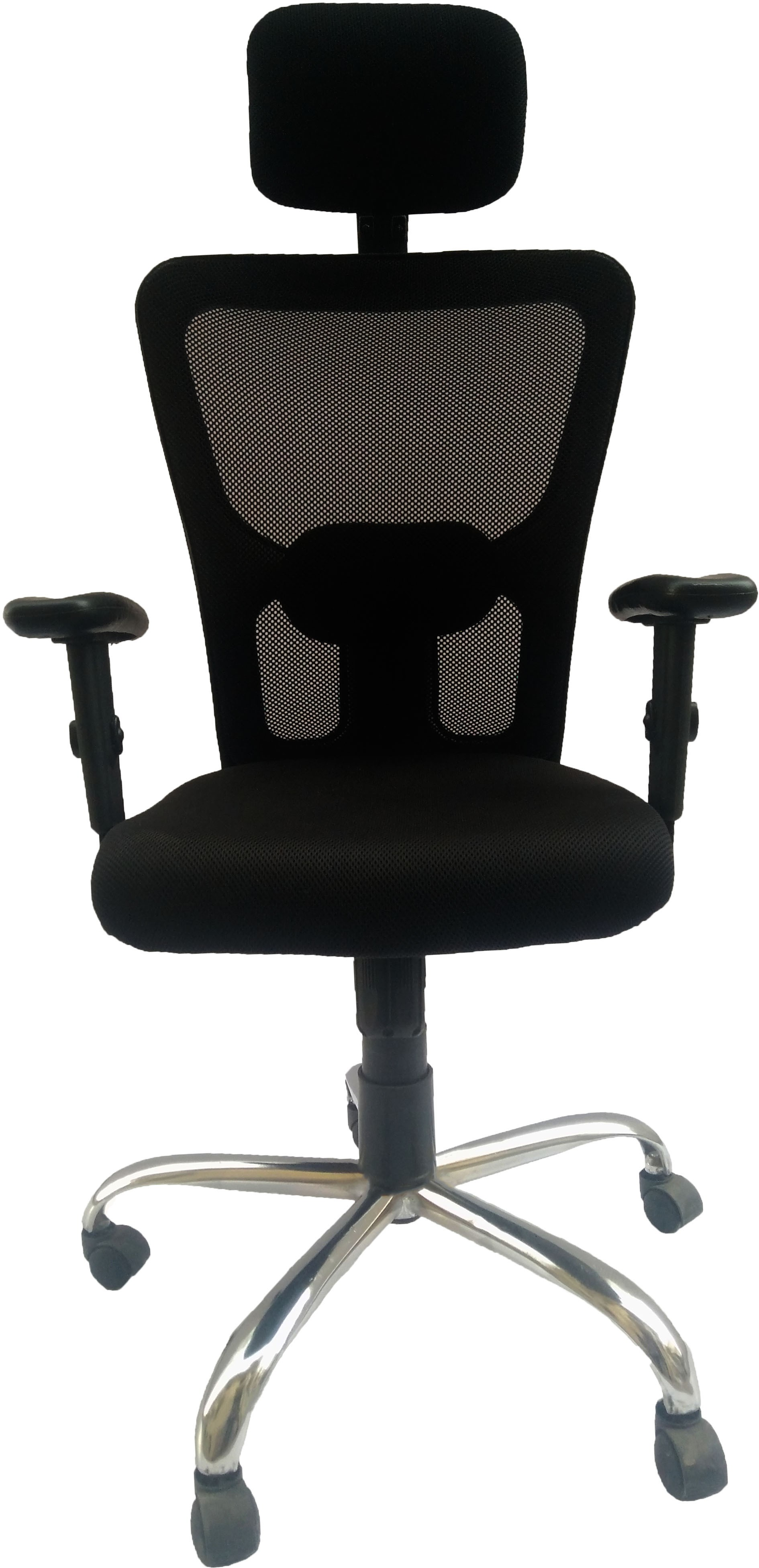 View Sogno SOC - 2015 Fabric Office Chair(Black) Furniture (Sogno)