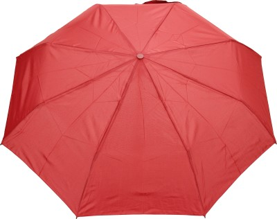 FabSeasons Solid Plain Umbrella(Maroon)