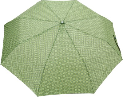 FabSeasons Printed Umbrella(Green)