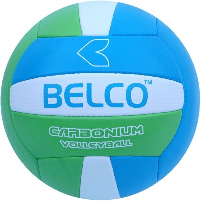 BELCO Tycon-2 Volleyball - Size: 4(Pack of 1, Green,Blue)