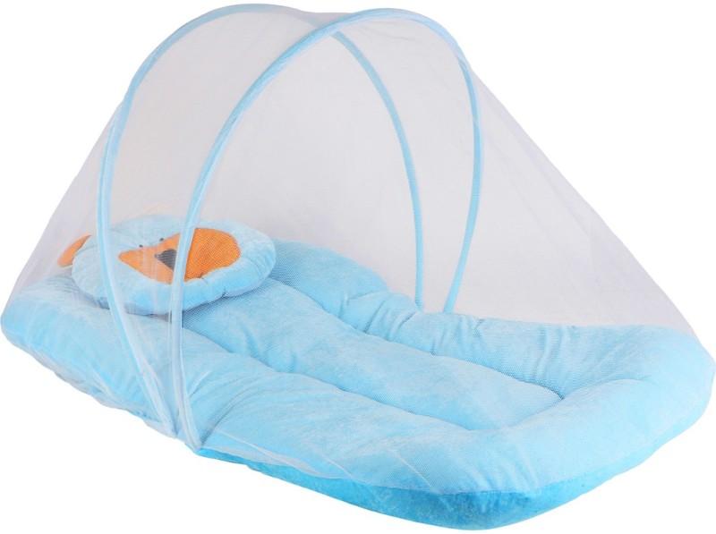Littly Velvet Bedding Set(Sky Blue)