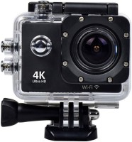 mezire Waterproof Helmet 2 inch LCD Display Ultra-HD 12MP BODY ONLY Sports & Action Camera(Black)