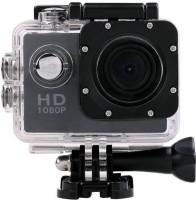 Benison India     Waterproof Helmet HD 1080p Cam Holder Sports & Action Camera(Black)