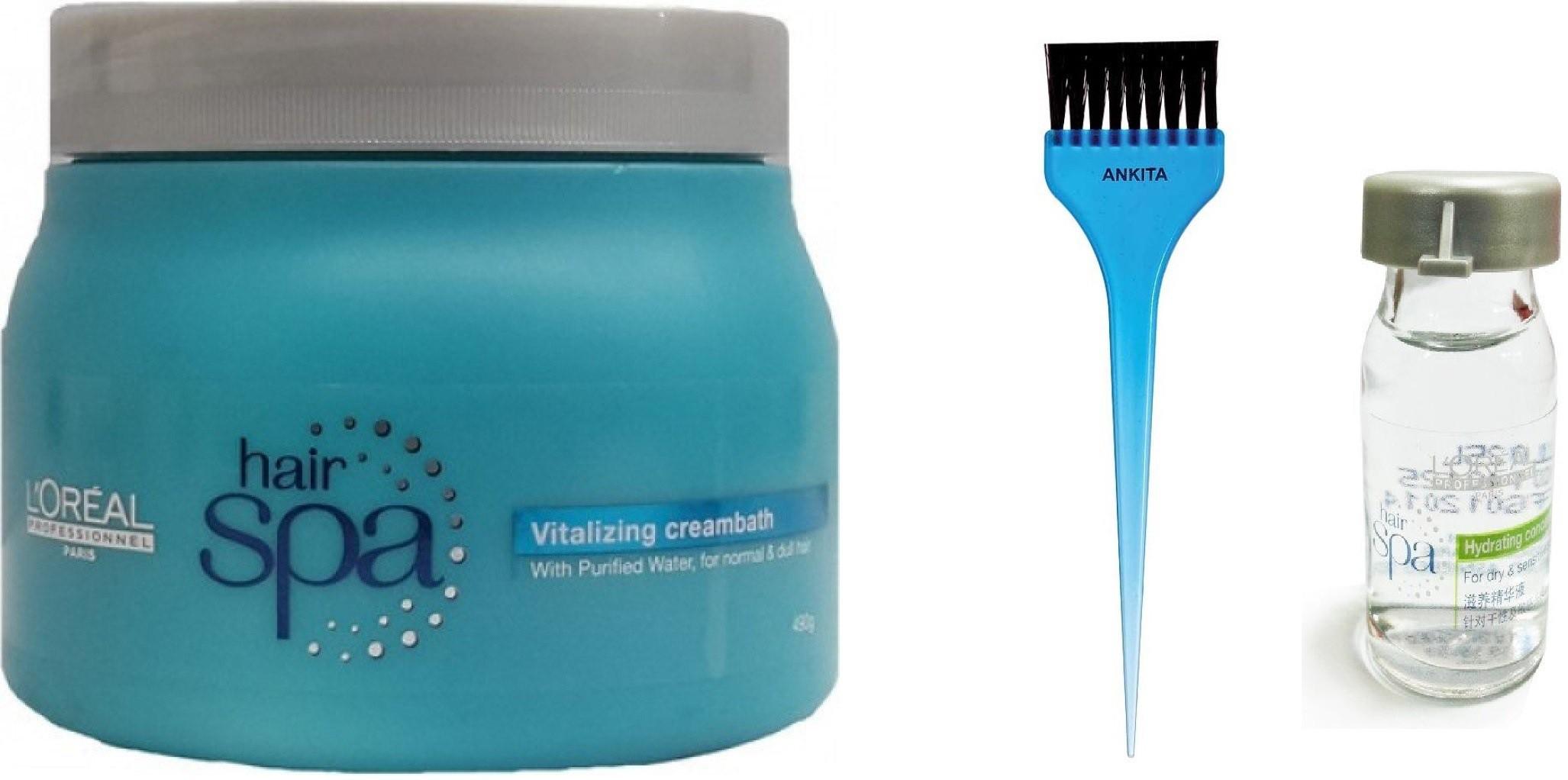 LOreal Hair Spa Vitalizing CreamBath(Set of 3)