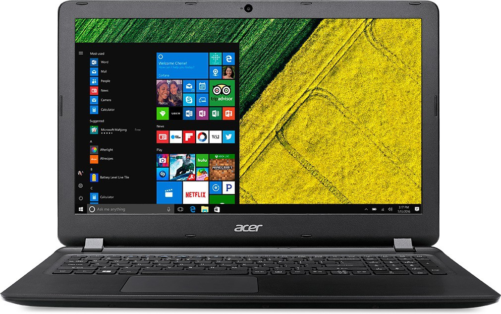 Acer Aspire ES1 Core i3 6th Gen - (4 GB/500 GB HDD/Windows 10 Home) ES1-572-36YW Notebook(15.6 inch, Black, 2.4 kg)   Laptop  (Acer)