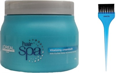 L'Oreal Paris Hair Spa Vitalizing Cream bath(490 g) at flipkart