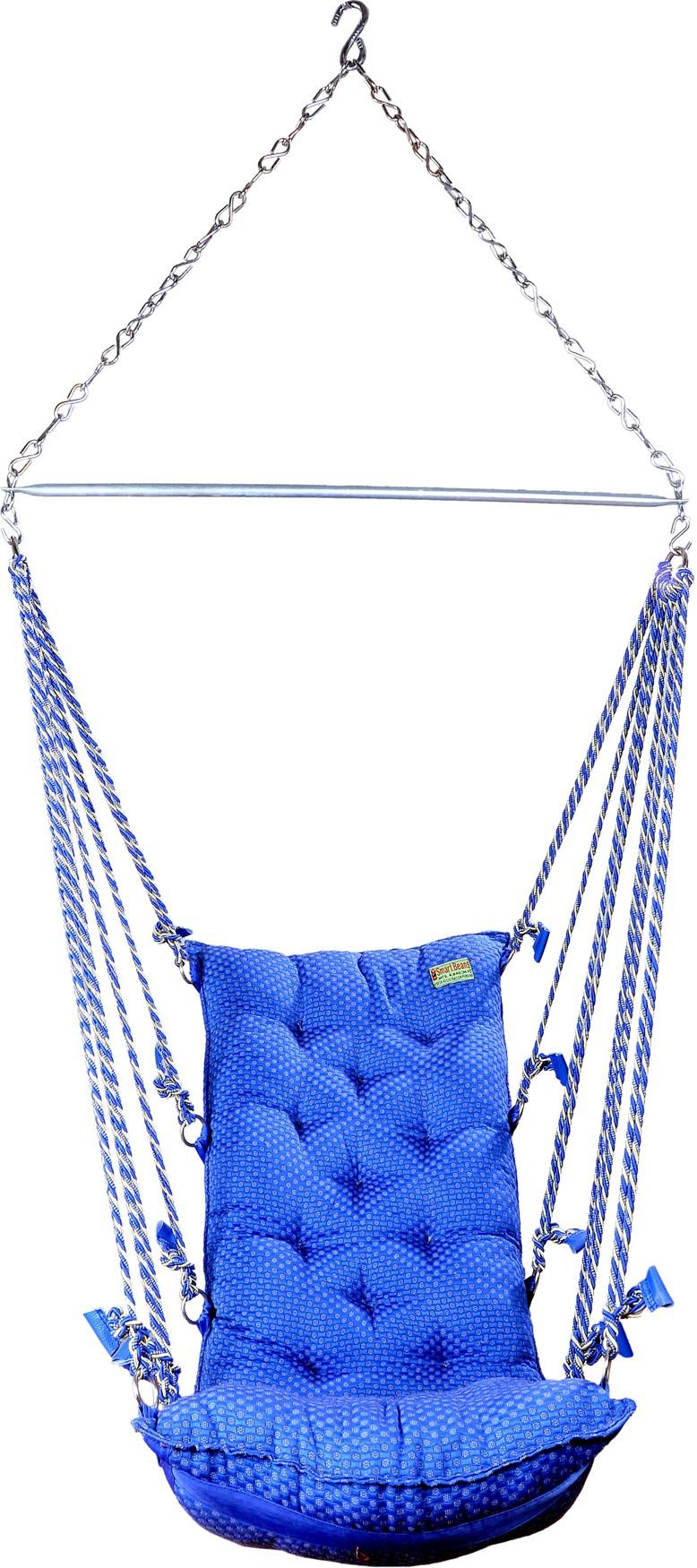 View Smart Beans Smart Beans Swing Hammock Blue Cotton Hammock(Blue) Furniture (Smart Beans)
