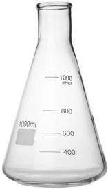 BFC Erlenmeyer Flask(1 L, Pack of 1)