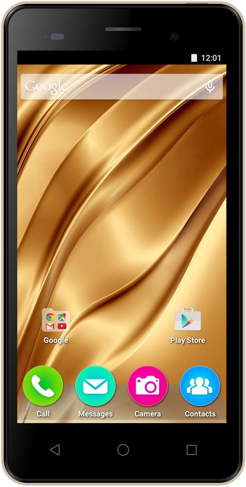 View Micromax Bolt Supreme 4 (Champagne, 8 GB)(1 GB RAM) Mobile Price Online(Micromax)