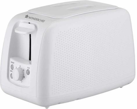 Wonderchef 8904214706142 780 W Pop Up Toaster(White)