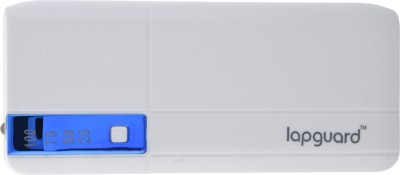 Lapguard LL515 10400 mAh Power Bank(White, Blue, Lithium-ion)