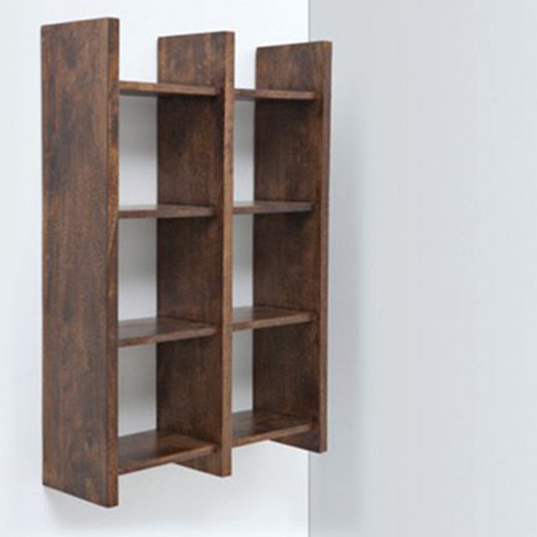 View Woodenartisan Wooden Wall Shelf(Number of Shelves - 1, Brown) Furniture (Woodenartisan)