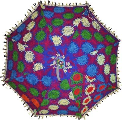 Lal Haveli Wedding Decoration Umbrella(Multicolor)