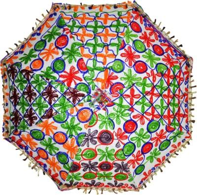 Lal Haveli Home Decoration Umbrella(Multicolor)