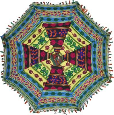 Lal Haveli Rajasthani Umbrella(Multicolor)