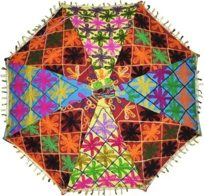 Lal Haveli One Fold Umbrella(Multicolor)