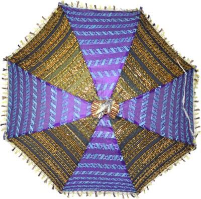 Lal Haveli Rajasthani Handmade Umbrella(Multicolor)