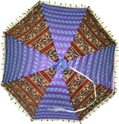 Lal Haveli Large Size Umbrella(Multicolor)