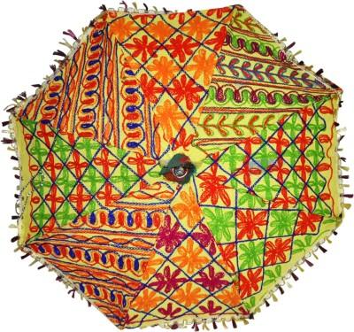 Lal Haveli Vintage Umbrella(Multicolor)