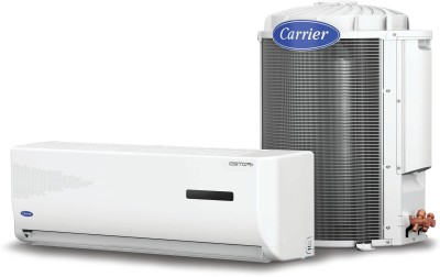 Carrier 1.2 Ton 5 Star Split AC - White(Ester+14k 5 Star Cyclojet-CACS14ER5J1, Copper Condenser)