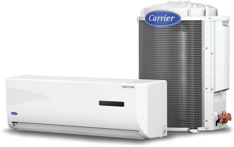 Carrier 1.2 Ton 5 Star Split AC  - White(Ester+14k 5 Star Cyclojet-CACS14ER5J1, Copper Condenser)