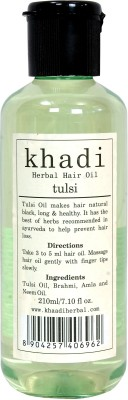 Vagads Khadi Tulsi Herbal Hair Oil(210 ml)