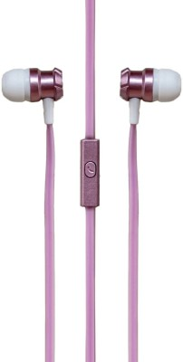 SIGNATURE VM-62 Wired Headset With Mic(Pink)