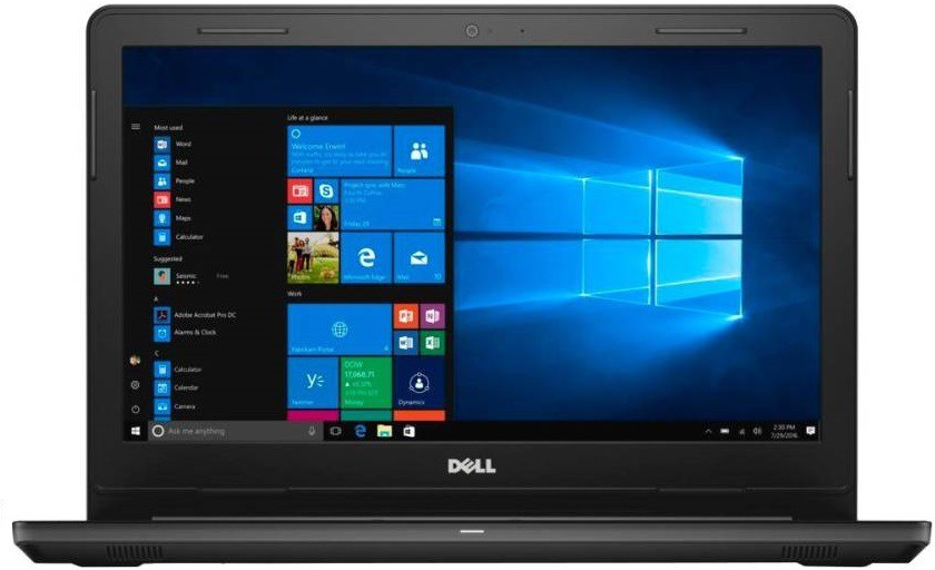View Dell 15 Core i7 6th Gen - (8 GB/1 TB HDD/Windows 10) 7568 Notebook(15.6 inch, Black) Laptop