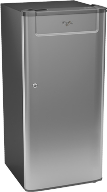View Whirlpool 190 L Direct Cool Single Door Refrigerator(205 GENIUS CLS PLUS 3S, Grey Solid, 2017)  Price Online