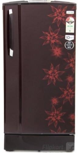 View Godrej 185 L Direct Cool Single Door Refrigerator(RD EDGESX 185 PM 2.2, Berry Bloom, 2017)  Price Online