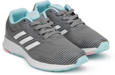 Adidas Boys & Girls Lace Running Shoes(Grey)