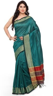 Vaivastava Embellished Fashion Silk Cotton Blend Saree(Multicolor) at flipkart