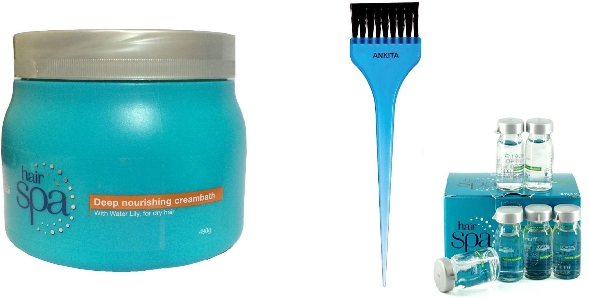 LOreal Hair Spa Deep Nourishing Creambath(Set of 3)