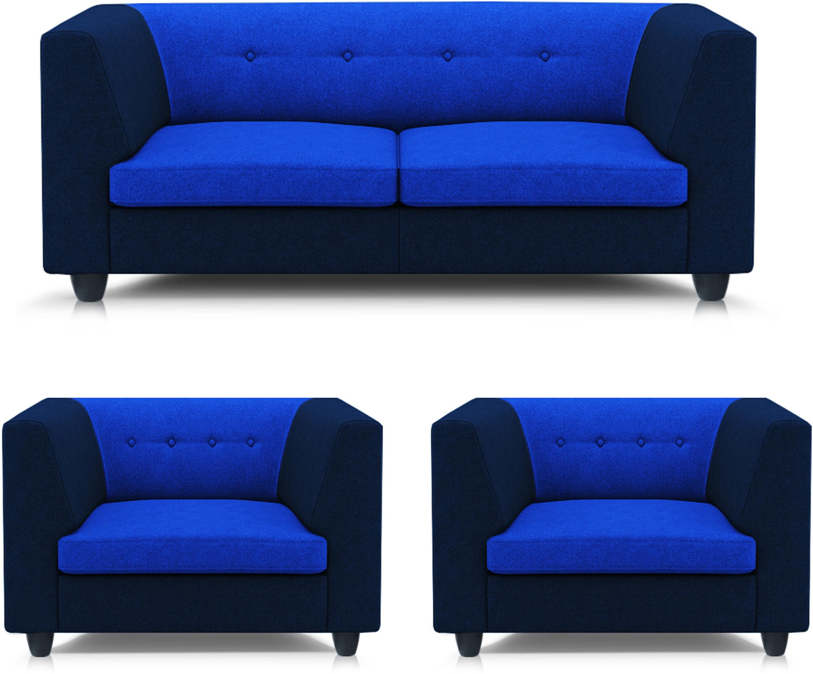 View Adorn homez Modern Solid Wood 2 + 1 + 1 Multi Sofa Set Furniture (Adorn homez)