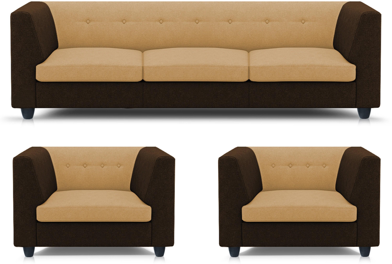 View Adorn homez Modern Solid Wood 3 + 1 + 1 Multi Sofa Set Furniture (Adorn homez)