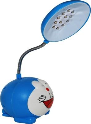 Toyzstation Cartoon Character Doraemon Portable LED Study Lamp(18 cm, Blue)