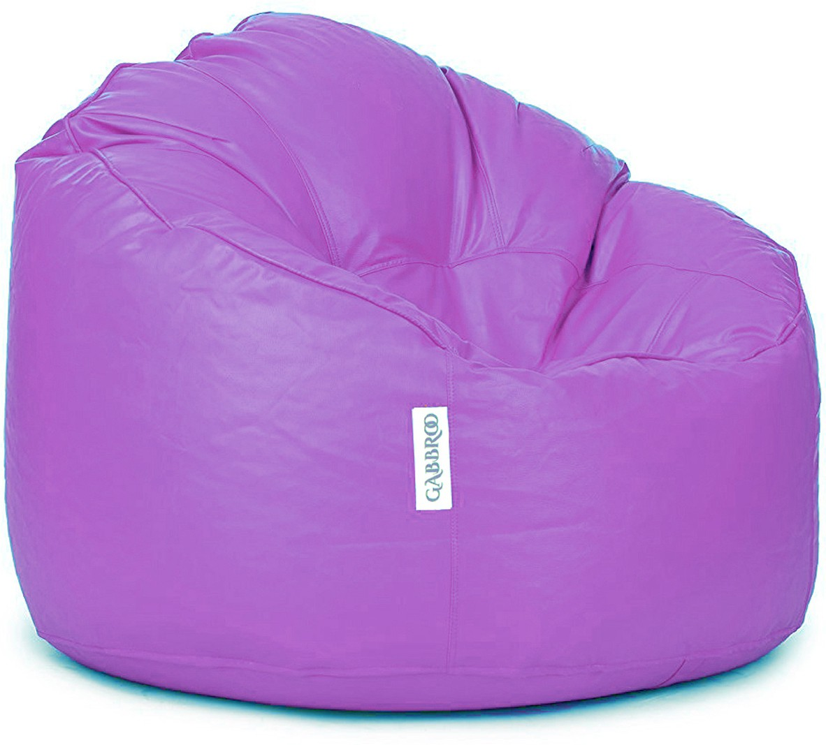 View Gabbroo XXXL Lounger Bean Bag Cover(Purple) Furniture (StyleCraft)
